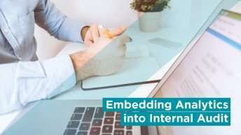 EMBEDDING ANALYTICS INTO INTERNAL AUDIT