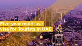 Five-year multi-use visa for Tourists in UAE